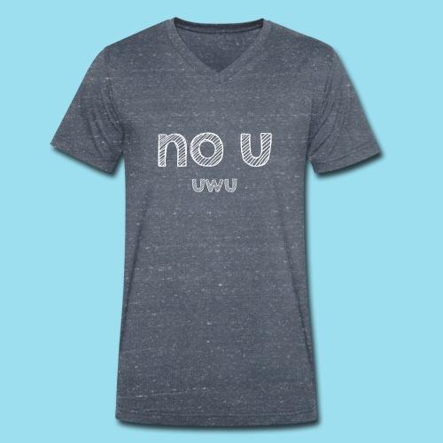 no u - Männer Bio-T-Shirt mit V-Ausschnitt von Stanley & Stella