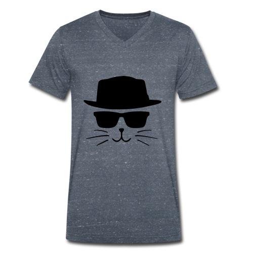 Chat avec style - T-shirt bio col V Stanley & Stella Homme