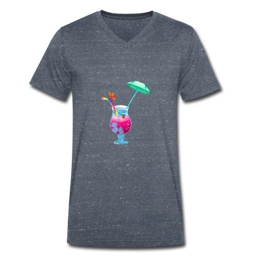 Cocktail estival - T-shirt bio col V Stanley & Stella Homme