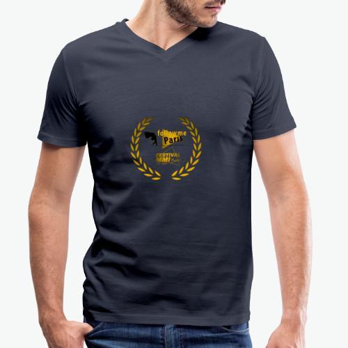 Followme Paris lauréat Festival MMI Béziers - T-shirt bio col V Stanley & Stella Homme