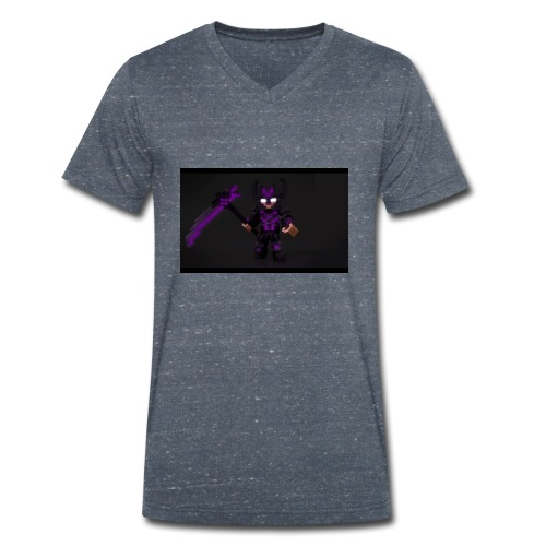 Herobrine - Männer Bio-T-Shirt mit V-Ausschnitt von Stanley & Stella