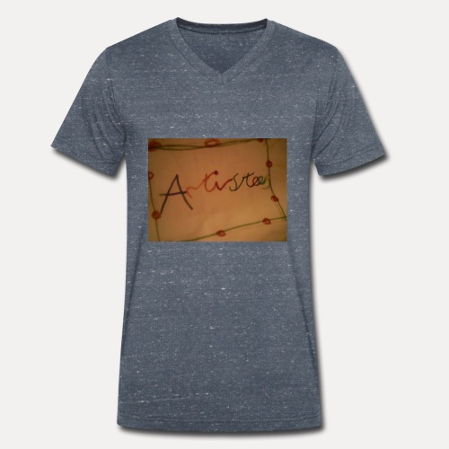 Artistees - Men's Organic V-Neck T-Shirt by Stanley & Stella