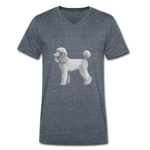 poodle standard abricot ink - Økologisk Stanley & Stella T-shirt med V-udskæring til herrer