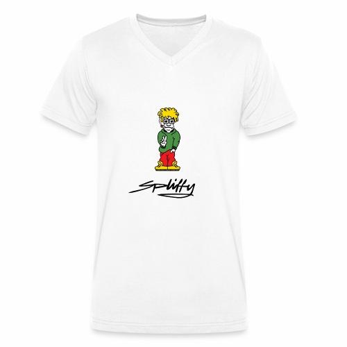 spliffy2 - Men's Organic V-Neck T-Shirt by Stanley & Stella