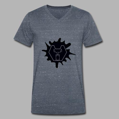 Bearr - Mannen bio T-shirt met V-hals van Stanley & Stella