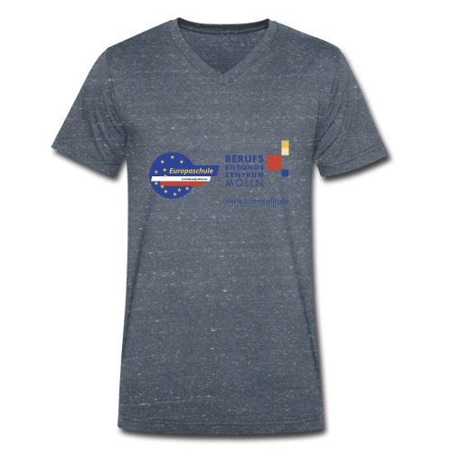 BBZEuropaschule - Männer Bio-T-Shirt mit V-Ausschnitt von Stanley & Stella