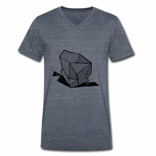 ROCK No 1 b w - Mannen bio T-shirt met V-hals van Stanley & Stella