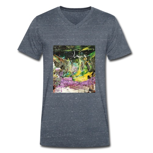 Abstract close up 2 - Men's Organic V-Neck T-Shirt by Stanley & Stella