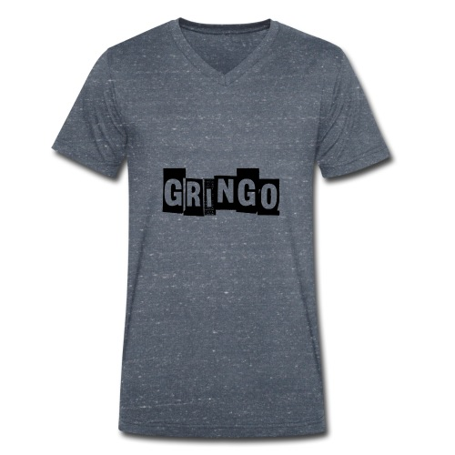 Cartel Gangster pablo gringo mexico tshirt - Men's Organic V-Neck T-Shirt by Stanley & Stella