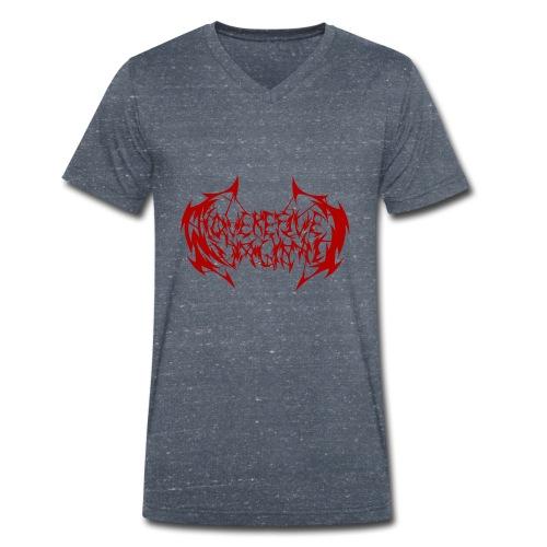 ARV Logo rosso - T-shirt ecologica da uomo con scollo a V di Stanley & Stella