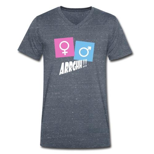 Kønsstereotyper argh - Økologisk Stanley & Stella T-shirt med V-udskæring til herrer