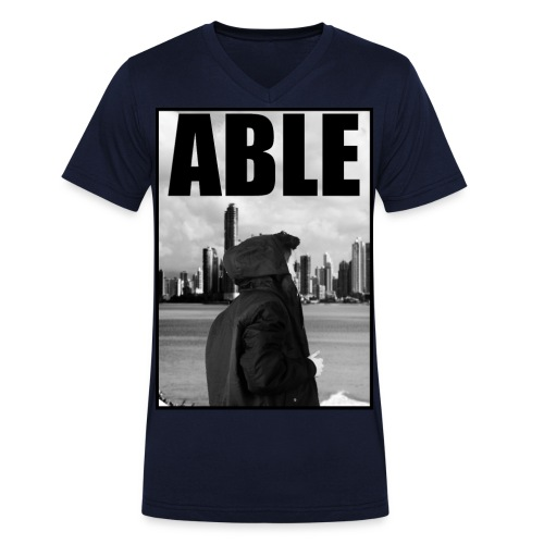 ablee jpg - Männer Bio-T-Shirt mit V-Ausschnitt von Stanley & Stella