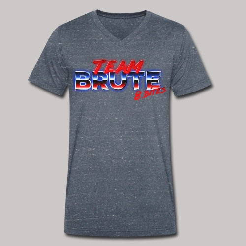 Team BRUTE Red - Men's Organic V-Neck T-Shirt by Stanley & Stella
