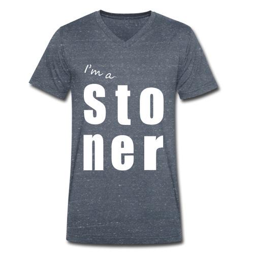 I m a stoner - T-shirt bio col V Stanley & Stella Homme