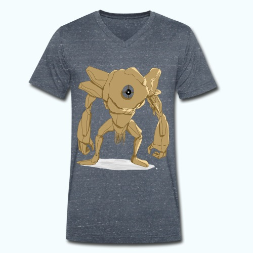 Cyclops - Men's Organic V-Neck T-Shirt by Stanley & Stella