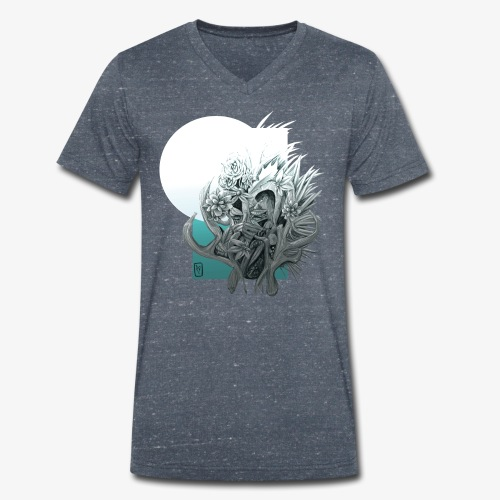 Mother nature - T-shirt bio col V Stanley & Stella Homme