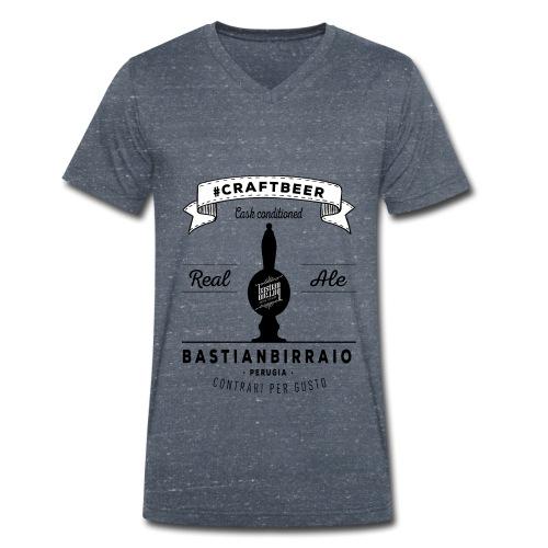 Design_Tshirt_RealAleInIt - T-shirt ecologica da uomo con scollo a V di Stanley & Stella