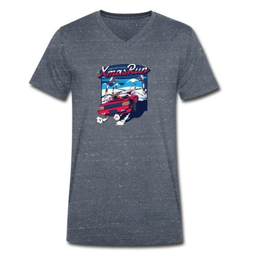 XmasRun - Männer Bio-T-Shirt mit V-Ausschnitt von Stanley & Stella