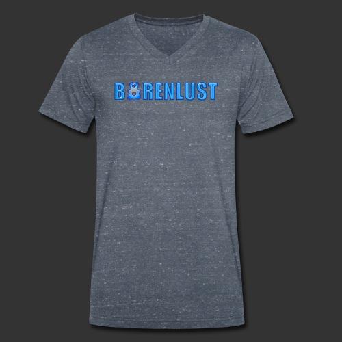 Bärenlust LOGO Motiv - Männer Bio-T-Shirt mit V-Ausschnitt von Stanley & Stella