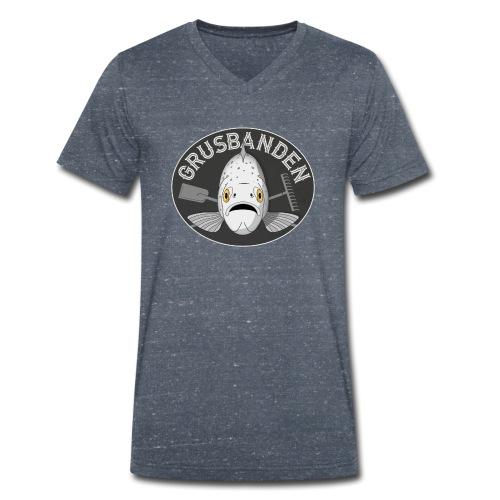 Grusbanden - Økologisk Stanley & Stella T-shirt med V-udskæring til herrer
