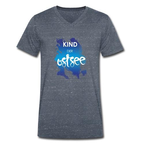 Kind der Ostsee - Männer Bio-T-Shirt mit V-Ausschnitt von Stanley & Stella