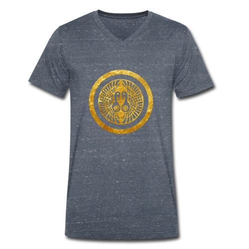 Ikko Ikki Mon Japanese clan - Men's Organic V-Neck T-Shirt by Stanley & Stella