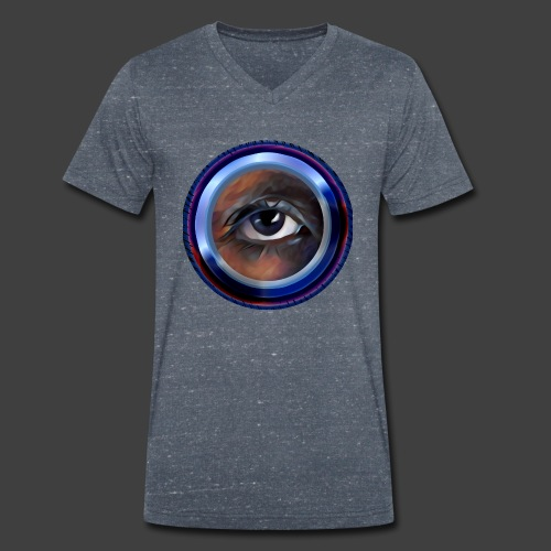 I'm Watching You - Men's Organic V-Neck T-Shirt by Stanley & Stella