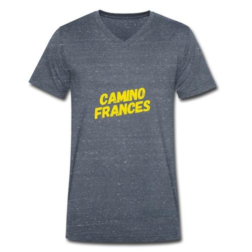 Camino Frances - Männer Bio-T-Shirt mit V-Ausschnitt von Stanley & Stella