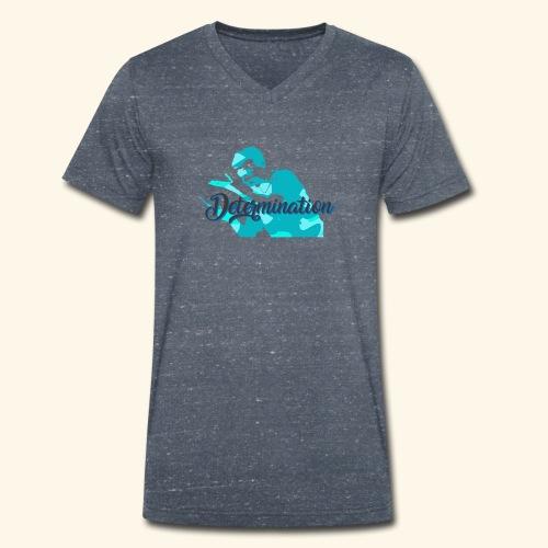 Determination to win the Championship - Männer Bio-T-Shirt mit V-Ausschnitt von Stanley & Stella