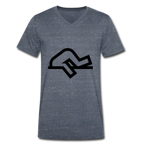 Tête bloqué dans le béton - T-shirt bio col V Stanley & Stella Homme