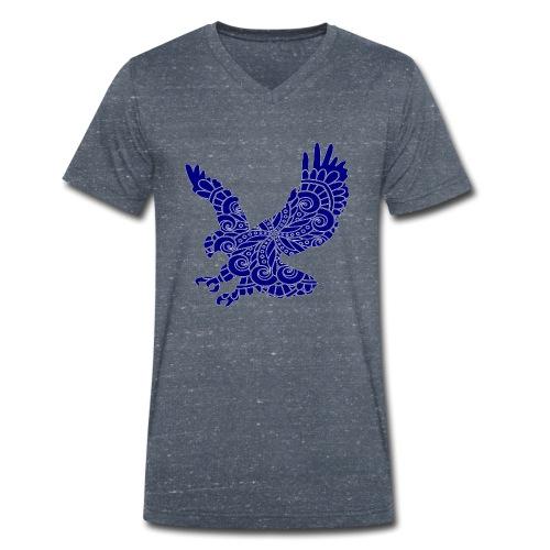 MANDALADLER - Männer Bio-T-Shirt mit V-Ausschnitt von Stanley & Stella