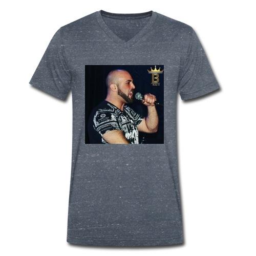 Boba D Official - Mannen bio T-shirt met V-hals van Stanley & Stella