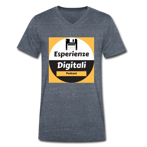 Logo Esperienze Digitali - T-shirt ecologica da uomo con scollo a V di Stanley & Stella