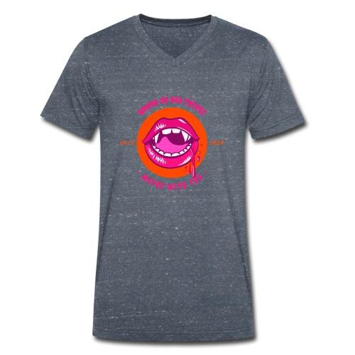 Sexy Halloween - Männer Bio-T-Shirt mit V-Ausschnitt von Stanley & Stella