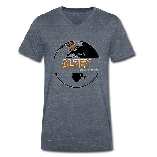 Globus Alzey - Männer Bio-T-Shirt mit V-Ausschnitt von Stanley & Stella