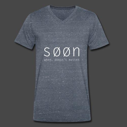 søøn - when, doesn't matter - Männer Bio-T-Shirt mit V-Ausschnitt von Stanley & Stella