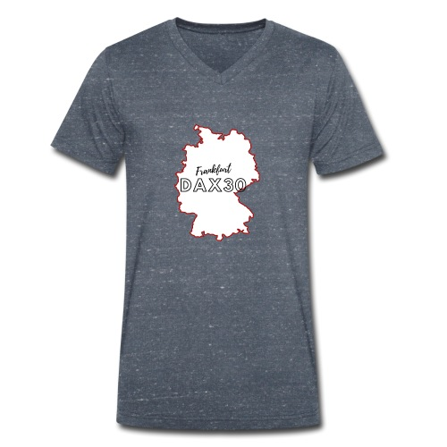 DAX30 - Men's Organic V-Neck T-Shirt by Stanley & Stella