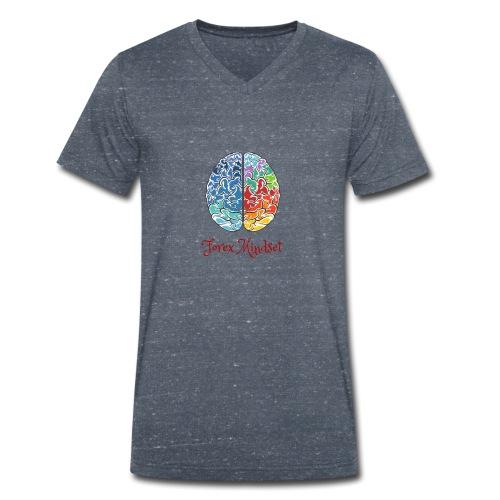 Forex mindset - Men's Organic V-Neck T-Shirt by Stanley & Stella