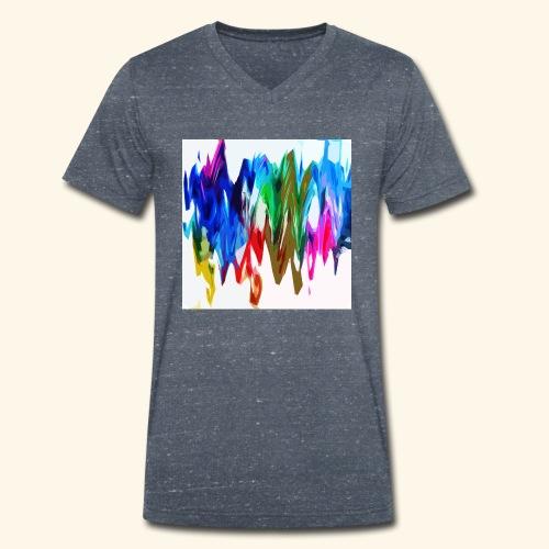 Colori di diamante - T-shirt ecologica da uomo con scollo a V di Stanley & Stella