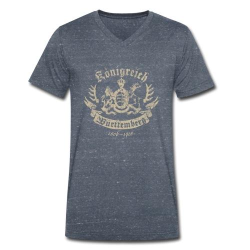Königreich Württemberg - Männer Bio-T-Shirt mit V-Ausschnitt von Stanley & Stella