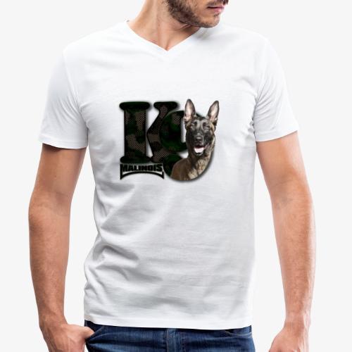 malinois k-9 - T-shirt bio col V Stanley & Stella Homme