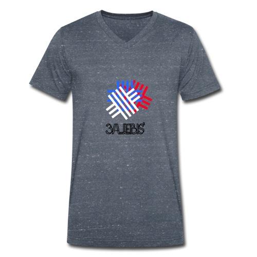 3ajebis' + - Männer Bio-T-Shirt mit V-Ausschnitt von Stanley & Stella