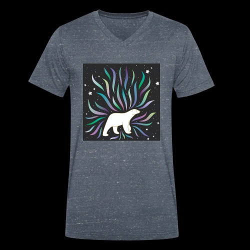 polar ours - T-shirt bio col V Stanley & Stella Homme