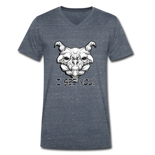 Monstre - T-shirt bio col V Stanley & Stella Homme