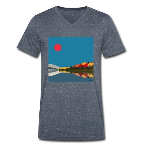 quebec - T-shirt bio col V Stanley & Stella Homme