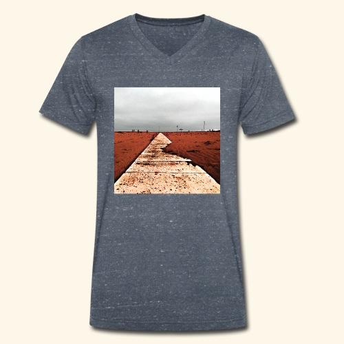 Mare d'inverno - T-shirt ecologica da uomo con scollo a V di Stanley & Stella