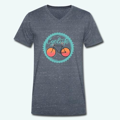 Le Cycliste - Männer Bio-T-Shirt mit V-Ausschnitt von Stanley & Stella