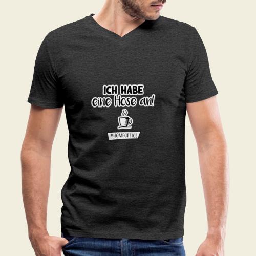 Ich habe eine Hose an! - Männer Bio-T-Shirt mit V-Ausschnitt von Stanley & Stella