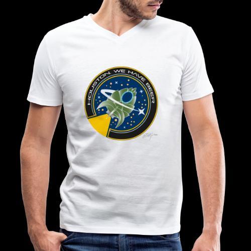 D10 Houston we have beer - Camiseta ecológica hombre con cuello de pico de Stanley & Stella