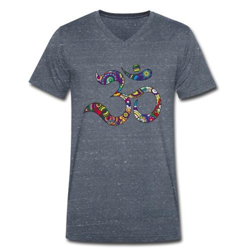 namaste - T-shirt ecologica da uomo con scollo a V di Stanley & Stella